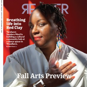 Chicago Reader cover, September 16, 2021, Fall Arts Preview. Cover story by Irene Hsiao: